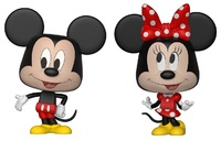 Mickey Mouse: Mickey & Minnie - Vynl. Figure 2-Pack