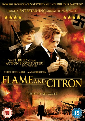 Flame and Citron on DVD image