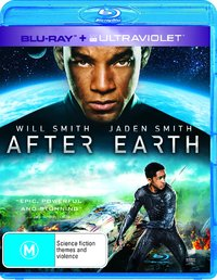 After Earth on Blu-ray, UV