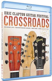 Eric Clapton - Crossroads Guitar Festival 2013 on Blu-ray