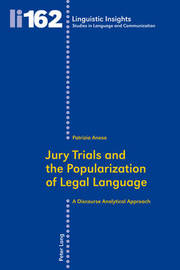 Jury Trials and the Popularization of Legal Language by Patrizia Anesa