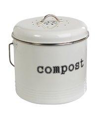 Compost Bin - White