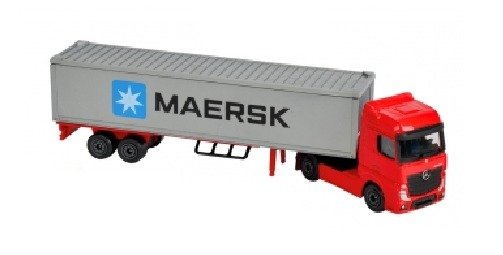 Majorette: Utility Transporter Playset - Maersk image
