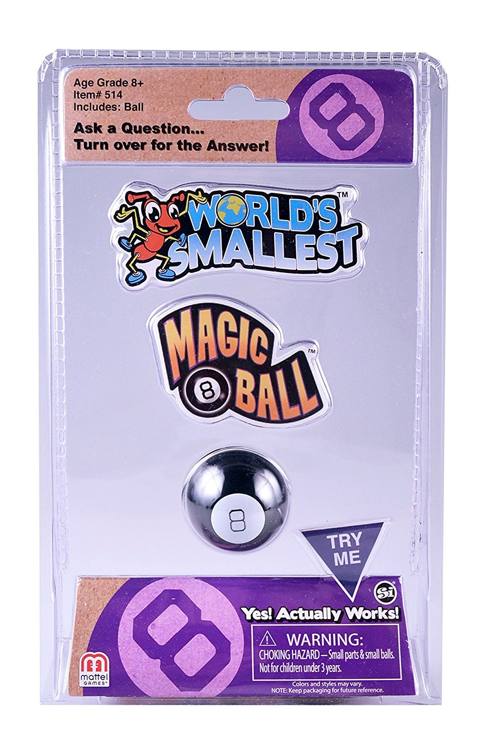 Worlds Smallest - Magic 8 Ball image