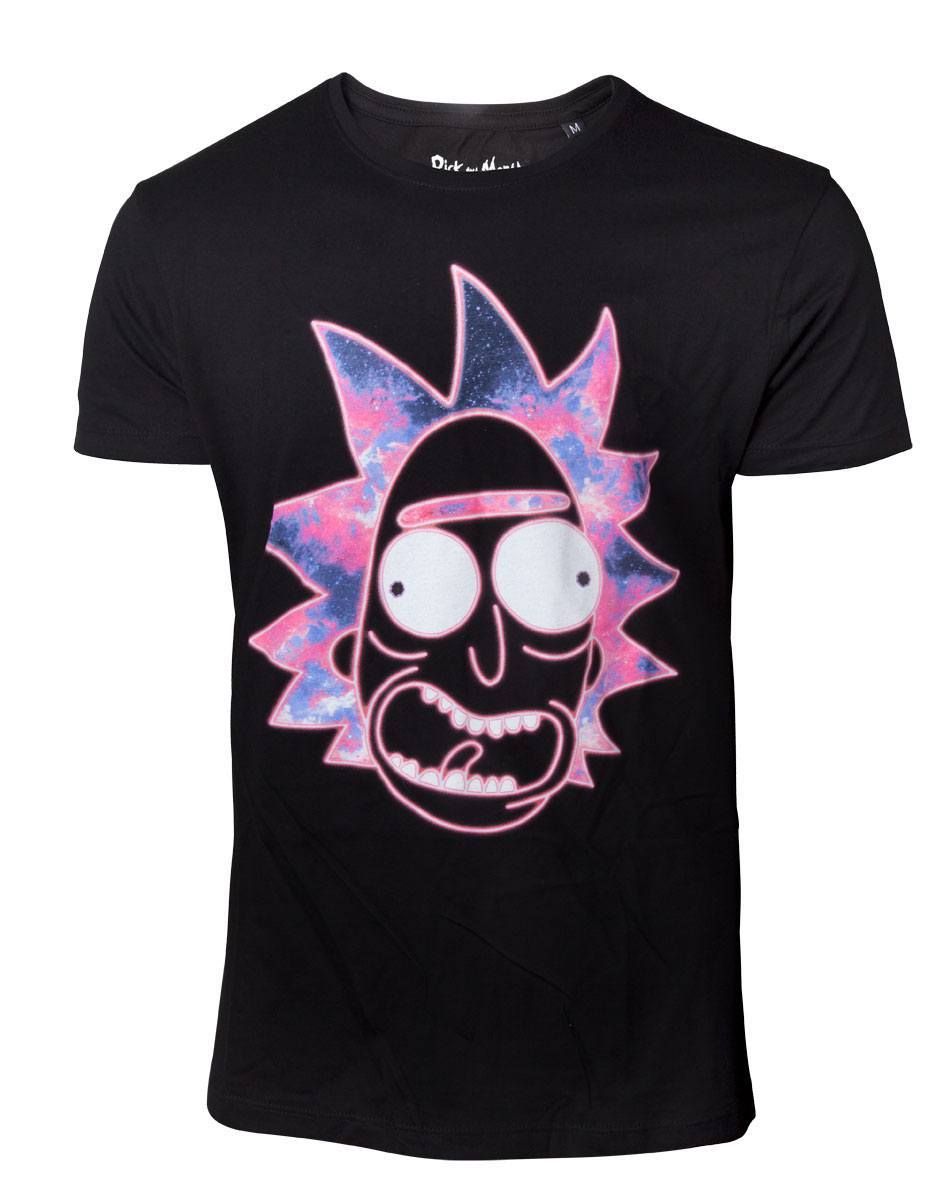 Rick & Morty: Neon Rick - Men's T-Shirt (Large) image