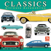 Classics - Ultimate Automobiles 2019 Wall Calendar by DK Publishing
