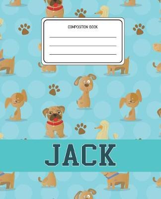 Composition Book Jack by Dogs Animal Composition Books