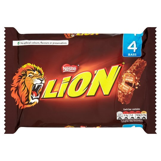 Nestle Lion Bar 30g (4 Pack)