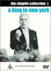 Charlie Chaplin - A King in New York on DVD