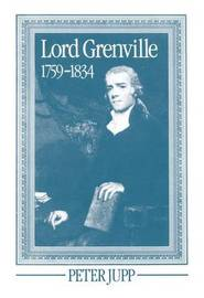 Lord Grenville 1759-1834 by Peter Jupp image