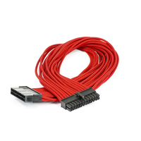 Phanteks 24-Pin Motherboard Extension Cable (Red)