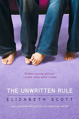 The Unwritten Rule by Elizabeth Scott image