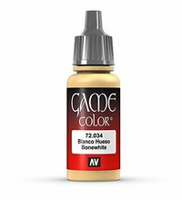 Vallejo Game Colour Bone White 17ml