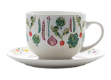 Maxwell & Williams: Food For Thought Soup Cup & Saucer Artichoke - Gift Boxed (475ml)