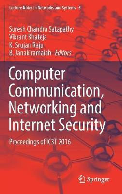 Computer Communication, Networking and Internet Security image