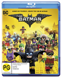 The Lego Batman Movie on Blu-ray