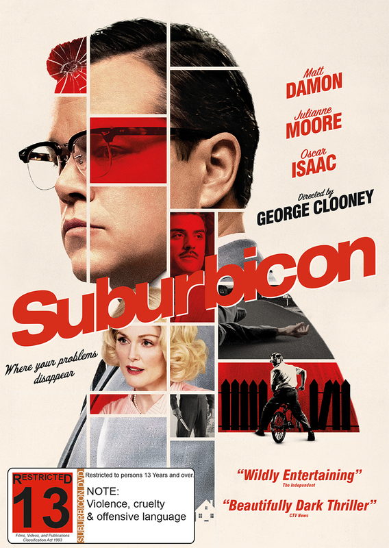 Suburbicon on DVD