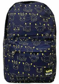 Loungefly: Pokemon - Pikachu Expressions Print Backpack