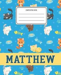 Composition Book Matthew by Cats Composition Books image