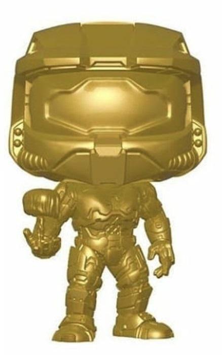 Halo: Master Chief & Cortana (Metallic Gold) - Pop! Vinyl Figure