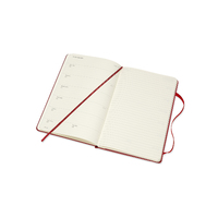 Moleskine: 2021 Diary Large Hard Cover 12 Month Weekly - Scarlet Red