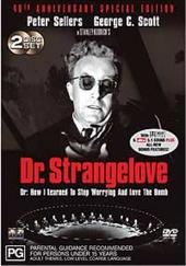 Dr Strangelove - 40th Anniversary Edition (2 Disc Set) on DVD