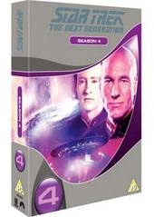 Star Trek - Next Generation: Season 4 (7 Disc Box Set) (New Packaging) on DVD