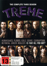 Treme - The Complete Third Season on DVD