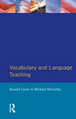 Vocabulary and Language Teaching by Ronald Carter image
