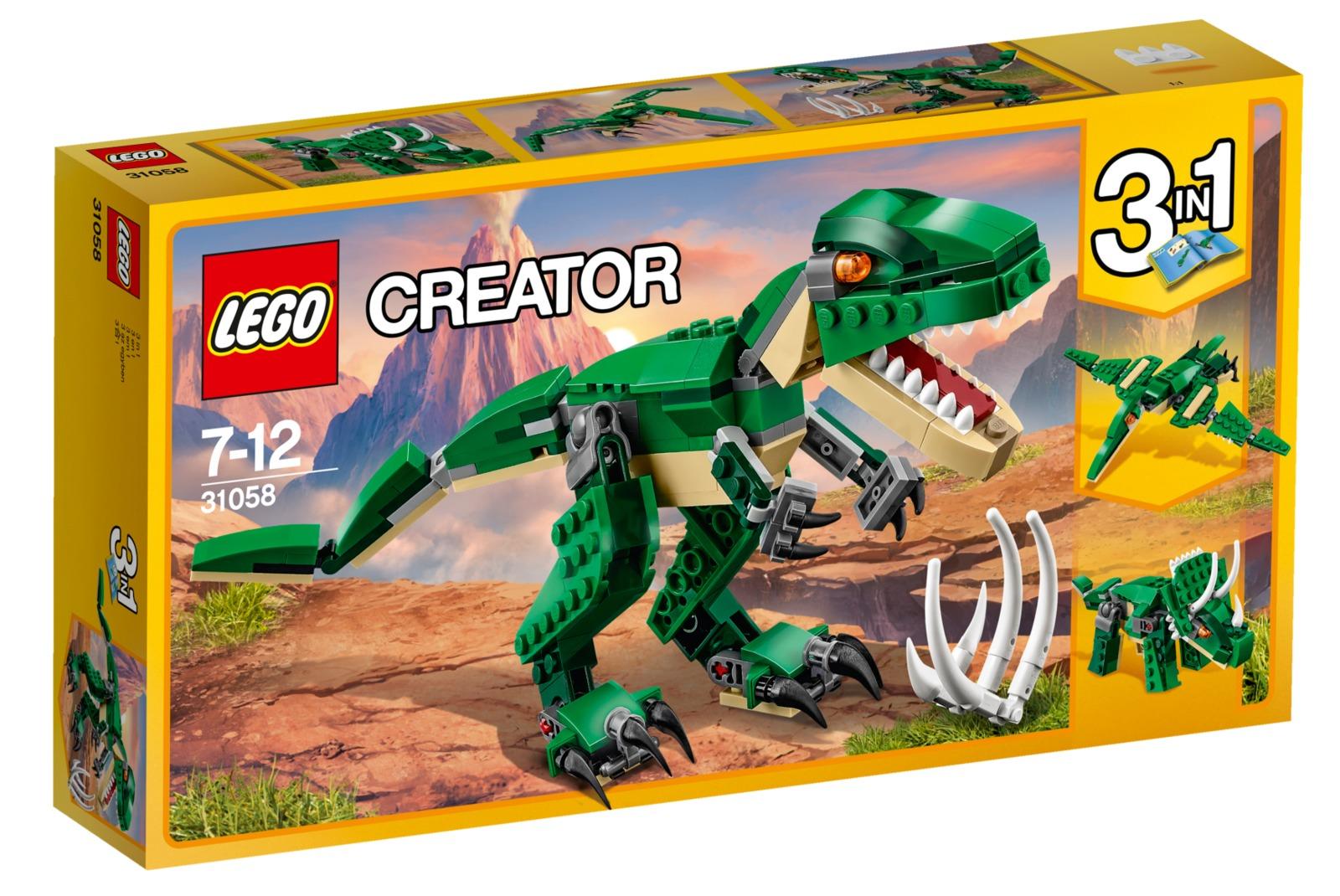 LEGO Creator: Mighty Dinosaurs (31058) image