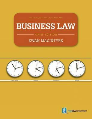 Business Law by Ewan MacIntyre
