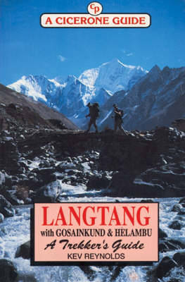 Langtang with Gosainkund and Helambu: A Trekker's Guide by Kev Reynolds image