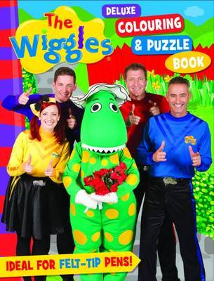 The Wiggles: Deluxe Colouring & Puzzle Book by The Wiggles
