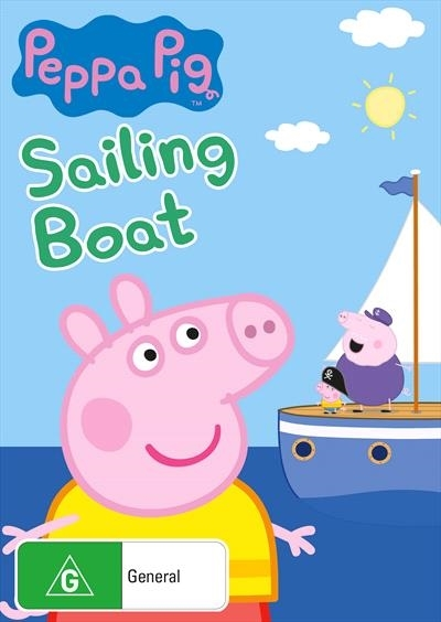 Peppa Pig: Sailing Boat on DVD