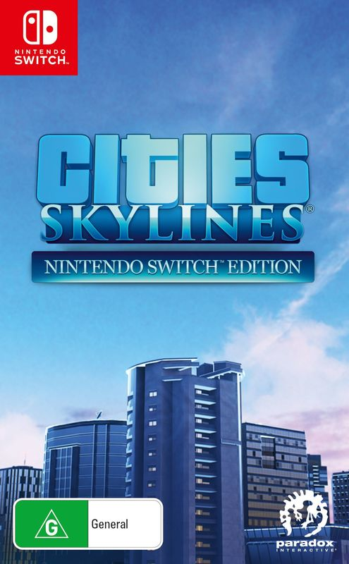 Cities Skylines for Switch