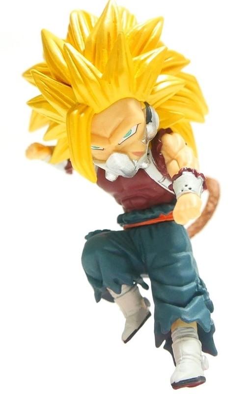 Dragon Ball: Super Saiyan 3 Cunber - PVC Figure