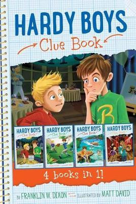 Hardy Boys Clue Book 4 Books in 1! by Franklin W Dixon image