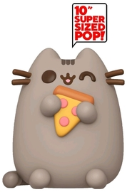 "Pusheen (with Pizza) - 10"" Super Sized Pop! Vinyl Figure"