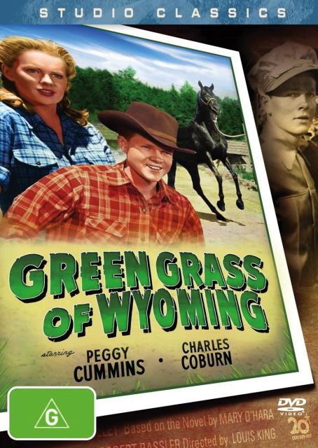 Green Grass of Wyoming (Studio Classic) on DVD