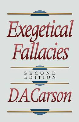 Exegetical Fallacies by D.A. Carson image