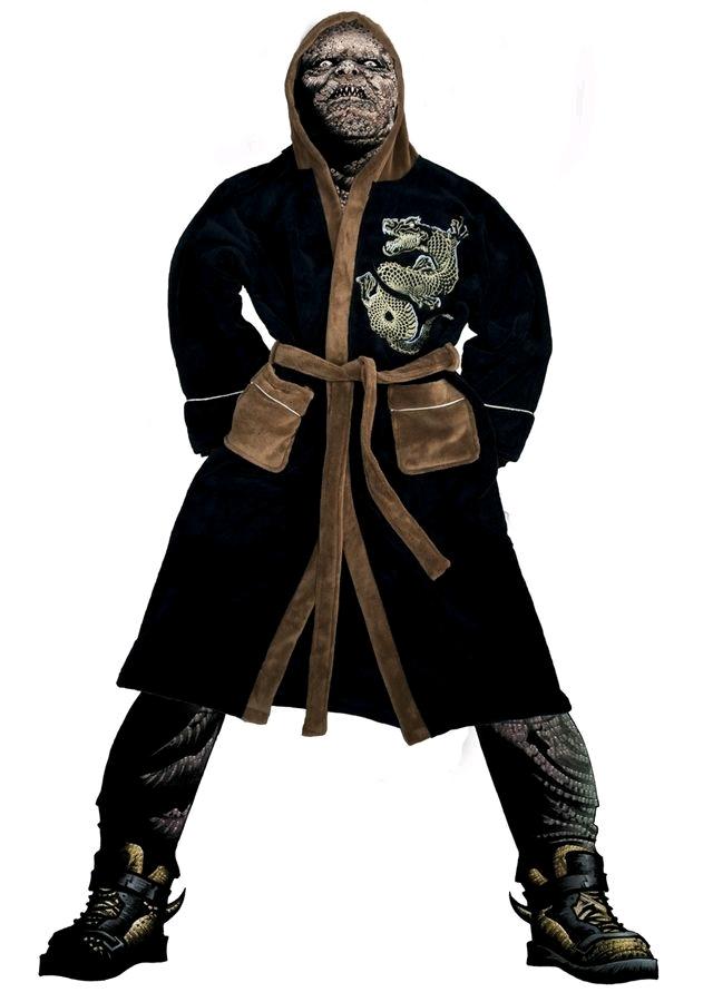 Suicide Squad - Killer Croc Hoodless Robe image