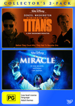 Remember The Titans / Miracle, The - Collector's 2-Pack (2 Disc Set) on DVD