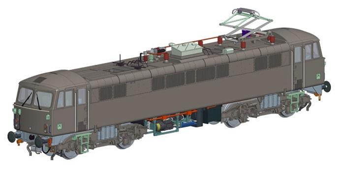 Hornby: BR Rail Blue 'Robert Burns' Class 87 87035 image