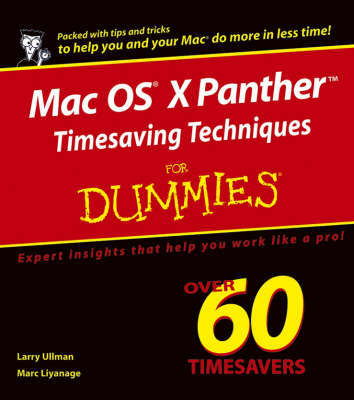 Mac OS X Panther Timesaving Techniques For Dummies by Larry Ullman image