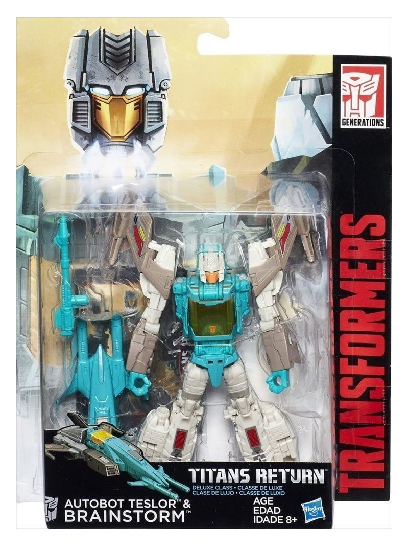 Transformers: Generations - Deluxe - Brainstorm image
