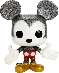 Disney - Mickey Mouse (Diamond Glitter Ver.) Pop! Vinyl Figure