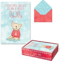 Molly & Rex: LOL Boxed Cards (Box of 10)