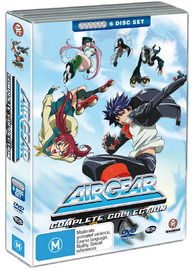 Air Gear - Complete Collection (6 Disc Set) on DVD