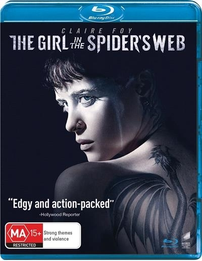 The Girl In The Spider's Web on Blu-ray