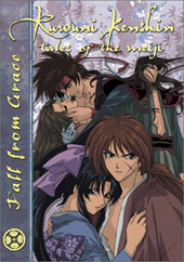 Rurouni Kenshin - V18 - Fall From Grace on DVD